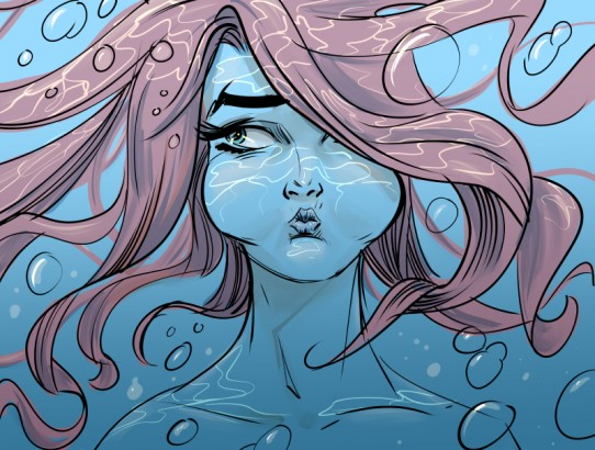 Underwater (a.k.a. drowning in deadlines)