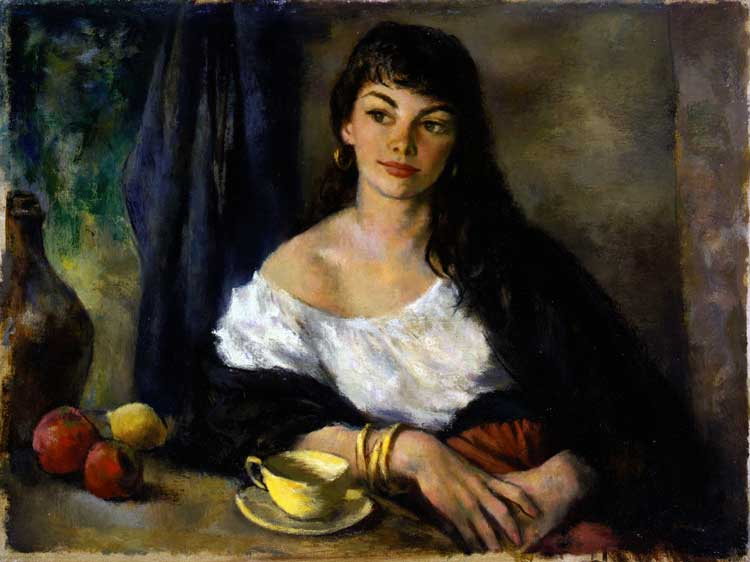 Famous Paintings Woman Subject