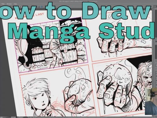 How To Draw a Comic in Manga Studio