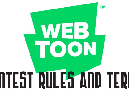 What are the Webtoon Contest Rules and Terms