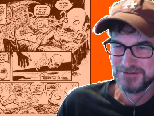 Doug TenNapel talks about Bigfoot Bill, doing a pitch, and more!