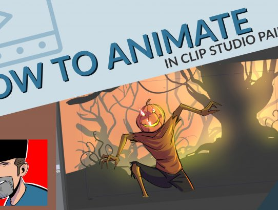 How to Animate in Clip Studio Paint -- The Easy Way!