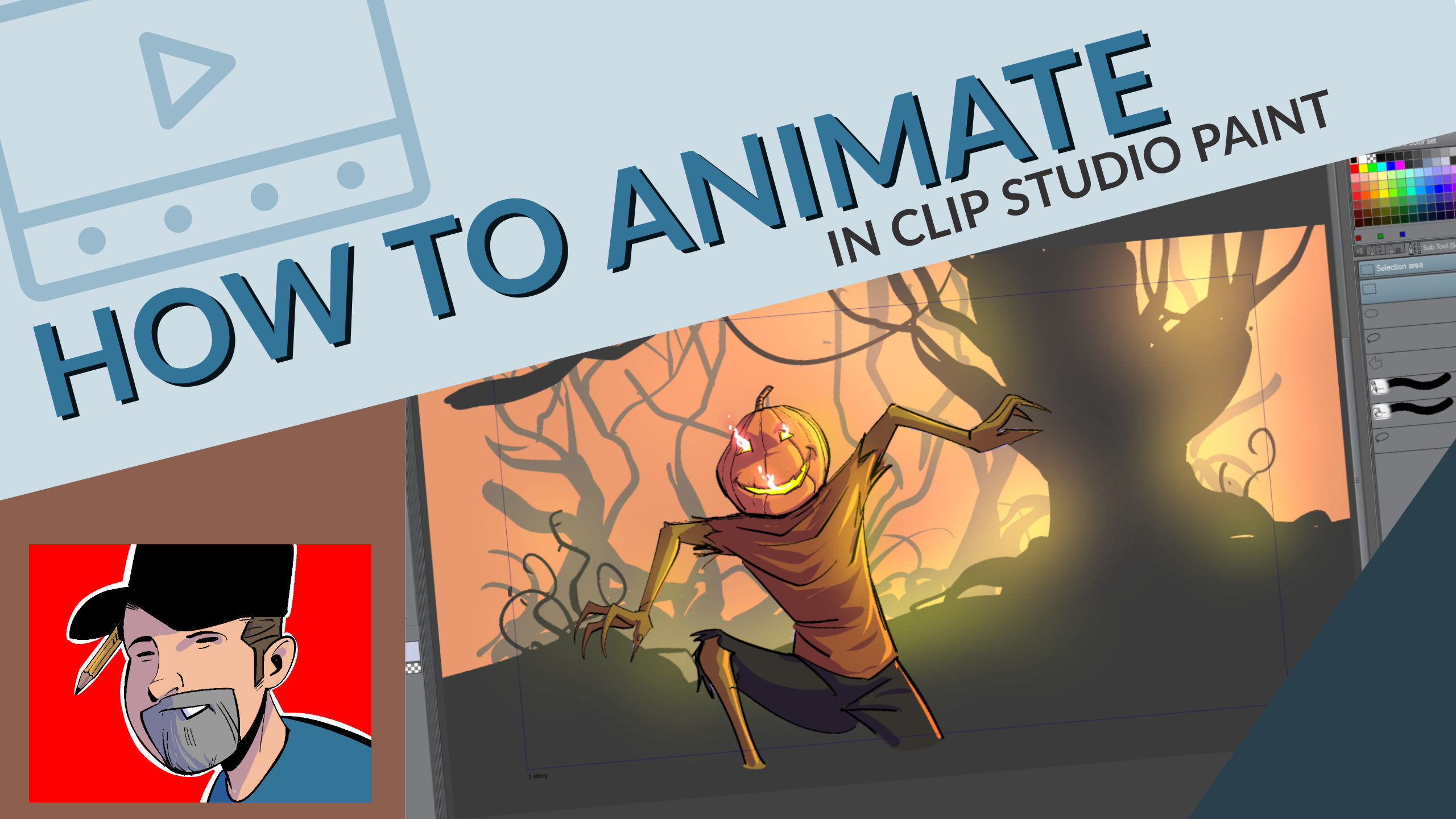 how to animate in clip studio paint