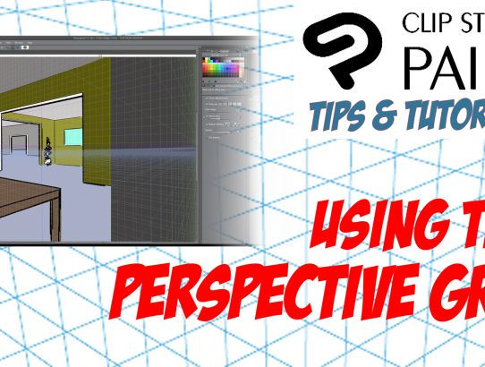 How to use the Perspective Tool in CLIP STUDIO PAINT