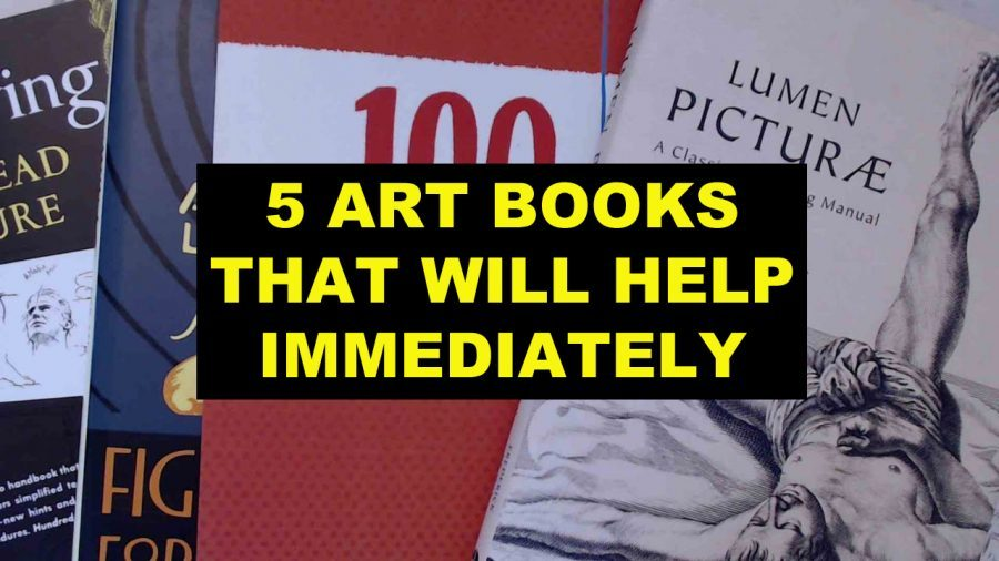 5 ART BOOKS